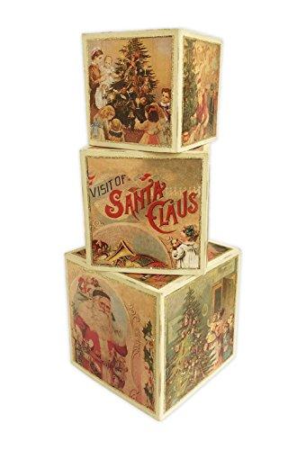 Bethany Lowe Christmas Nesting Boxes (Set of 3) TP9246