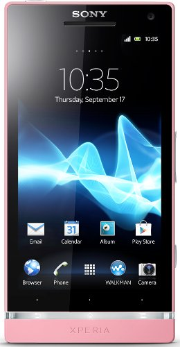 Sony Xperia SL LT26II Unlocked Android Phone--U.S. Warranty (Pink) by Sony