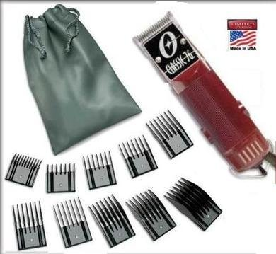 Combo New Oster Classic 76 Limited Edition Hair clipper (made in usa) very hard to find model Free (10 piece universal oster comb set) by Oster