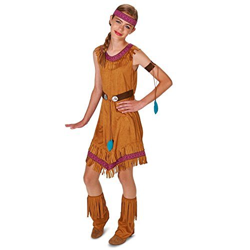 [Native Princess Girl Tween Dress Up Costume 0-3] (Pocahontas Wig)