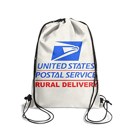 Sack Basic Cinch Pack Walking U.S.-Mail-Rural-Delivery-Magnetic-Car-Sign- Drawstring Bags