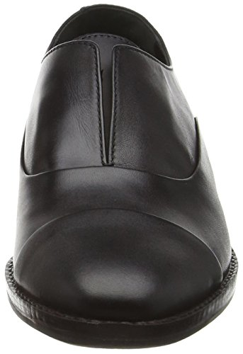97 Negro Mujer Mocasines Para Aldo Leather Guelfo black xB0wHH