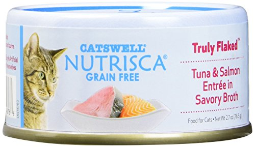 Nutrisca Grain Free Cat Food, Tuna & Salmon, 2.7 Ounce (Pack Of 24) For Sale