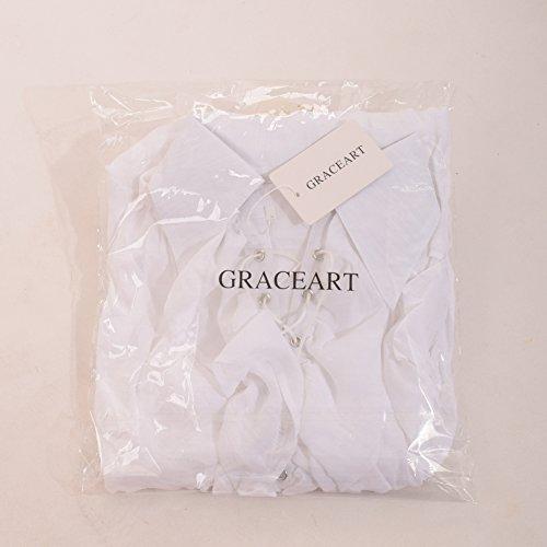 GRACEART Men's Pirate Shirt Costume by GRACEART (Image #7)