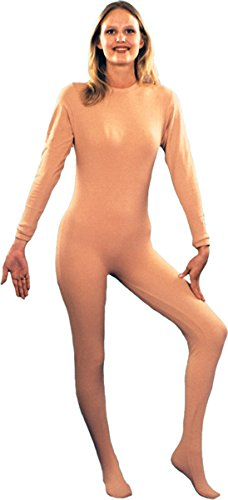 Buy morris costumes women's nude body suit small