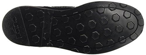 Cult Sabbath Low 1342, Zapatos de Cordones Derby para Mujer Multicolore (Black/White)