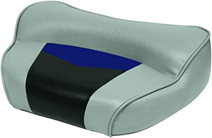 Wise Pro-Angler Professional Casting Deck Seat Marble Grey//Astro Blueberry//Charcoal THE WISE COMPANY INC 3308-1880