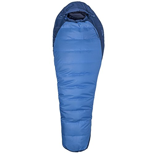 Marmot Trestles 15 Degree Synthetic Sleeping Bag-XWide-Left Zip/Cobalt Blue/Blue Night