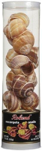 Roland Giant Tubes Snails & Shells, 12 ct, 7.75 oz ()