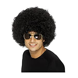 Black Funky Afro Wig (peluca)