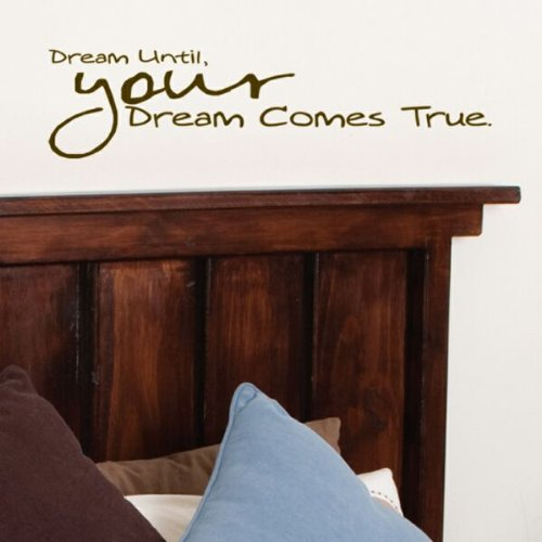 Die Cuts with View Until Your Dreams Come True Wall Art,