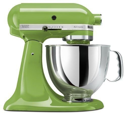 Price comparison product image Stkertools(TM) KitchenAid KSM150PSGA Artisan Series 5-Quart Stand Mixer, Green Apple