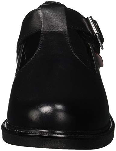 Janes black Nero T bar Lach Donna Kickers Mary Hq80O