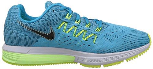 Nike Air Zoom Vomero 10 - Calzado Deportivo para hombre Azul / Negro / Amarillo (Blue Lagoon / Black-Ghst Grn-Vlt)