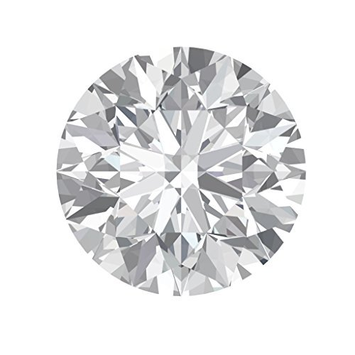 Arya's C ROUND Cut Loose Real Moissanite, Use for Pendant/Ring Genuine Near White Color, 1ct to 3ct, Near white, moissanite, Why pay so high when you get same quality for less (2.5)