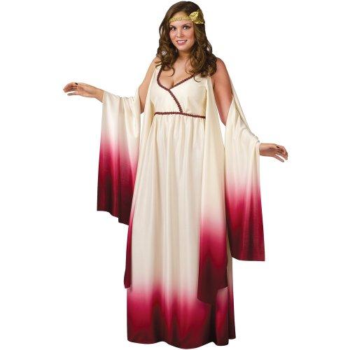 Venus Goddess of Love Costume - Plus Size 1X/2X - Dress Size 16-24 (Greek Goddess Plus Size Costume)