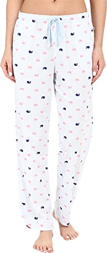 Jane & Bleecker Women's Side Button Pant, Whale Stripe, Medium