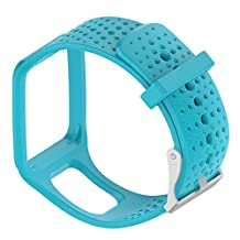 MOTONG TomTom Replacement Band - MOTONG Silicone Repalcement Band For TomTom Multi-Sport GPS Watch