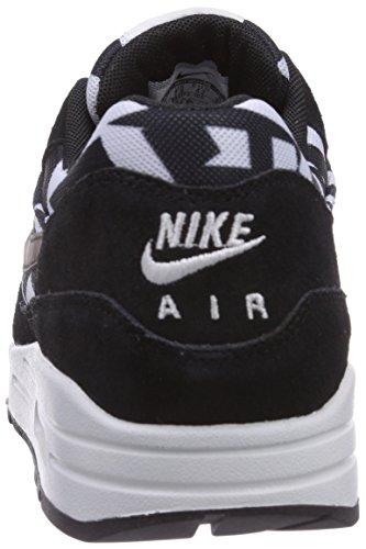 Nike Air Max 1 GPX Herren Laufschuhe Schwarz (White/Black 100)