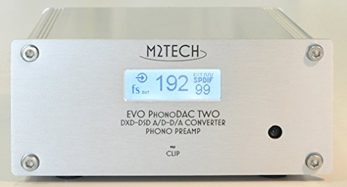 M2Tech EVO PhonoDAC TWO MM/MC adjustable Phono Preamp/32bit DXD ADC/DAC with Remote by M2TECH