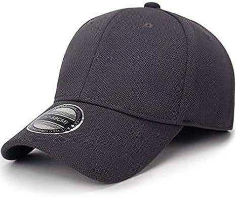 qqyz2323 Negro Béisbol Gorra Hombres Snapback Sombreros ...