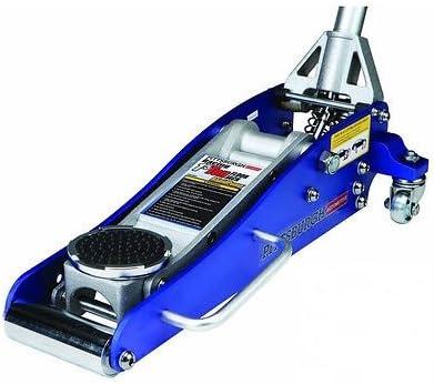 Amazon Com 3000 Lb Aluminum Racing Floor Jack 1 5 Ton Low Profile Sports Car Compact Blue Home Improvement