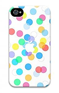iPhone 4 4S Case, iCustomonline Apple Logo Designs Case for iPhone 4 4S 3D