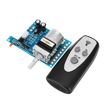Arduino Compatible SCM & DIY Kits Module Board - AC/DC 9V Infrared Remote Control Volume Controller Board Pre Potentiometer - 1 x AC\/DC 9V Volume control board, 1 x Remote controll