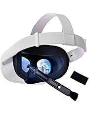 KRX VR Headset & Camera Lens Cleaning Pen and Cloth, Accessories for Oculus Quest/Quest 2/Rift S/Valve Index/PS4 VR Headset Lens Cleaning Kit