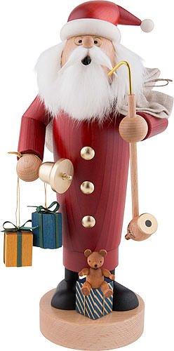 German Incense Smoker Santa Claus - 25 cm / 10 inch - Authentic German Erzgebirge Smokers - ()