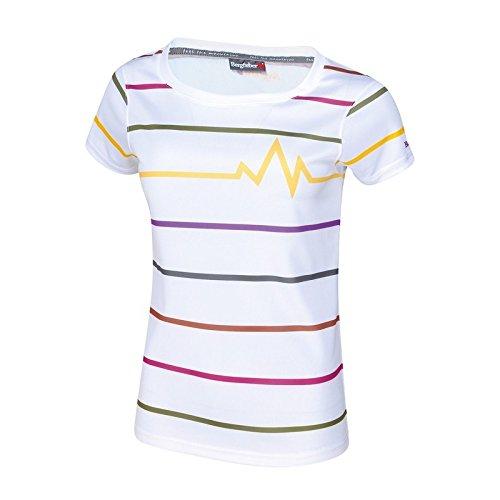 Berg fiebre Mujer Lys Multi Sport Camiseta Weiß