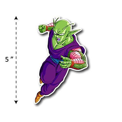 (TK-069) Piccolo | Dragon Ball - Waterproof Vinyl Sticker for Laptops Tablets Cars Motocycles Bicycle Skateboard Luggage Or Any Flat Surface (5