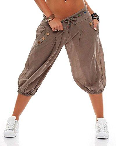 Sottile Elastica Tasche Grazioso Taille Vita Donne Moda Colour Pantaloni Zweireihig Accogliente Nahen Casuale Con Inclusa Cintura Donna Estivi 002 Spiaggia Eleganti Tempo Pantaloni Libero Pantaloni z6q1Tx1