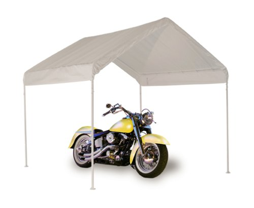 ShelterLogic 10x10 1-3/8' 4-Leg Canopy (White)