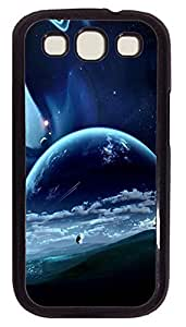 durable Samsung S3 case Beautiful Outer Space PC Black cover custom Samsung S3 hjbrhga1544