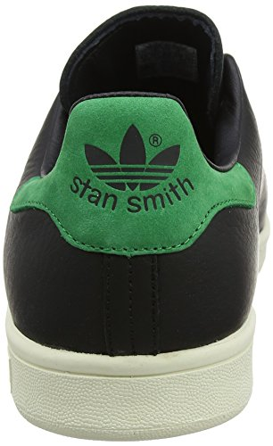 Smith Sneaker Black Black Stan Basso Verde Green Core Uomo adidas a Core Collo Nero aqFE7nxw5v