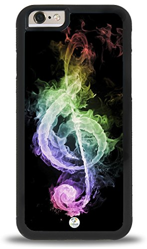 (iZERCASE i7r016BAA iPhone 7 Case [Music Note Treble Clef] for Apple iPhone 7 -)