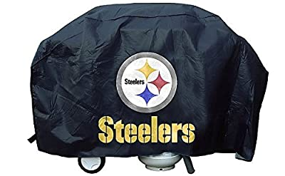 Pittsburgh Steelers Grill Cover Deluxe - Licensed NFL Football Merchandise from Sports Collectibles