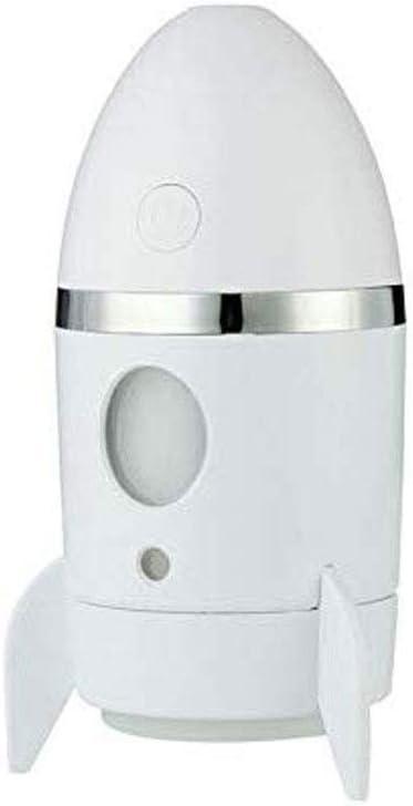 SMEJS Humidificador, difusor de aceites Esenciales, Rocket luz de la Noche purificador de Aire Fresco ambientadores for Coches Aire Olor Neutraliser