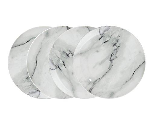 godinger-silver-art-75-natural-marble-design-porcelain-salad-plates-dining-dinnerware-set-of-4