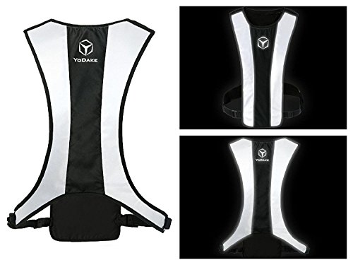 YODAKE Fashion Reflective Safety Vest of Unique Design with...
