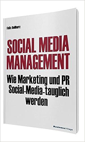Cover des Buchs: Social Media Management: Wie Marketing und PR Social Media-tauglich werden