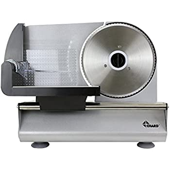 Amazon Com Chard Fsop 150 Electric Food Slicer Gray