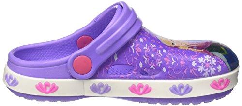 Walt Disney S17490laz - Patucos de Material Sintético para niña Viola (Lilla)