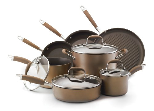Anolon-Advanced-Bronze-Hard-Anodized-Nonstick-11-Piece-Cookware-Set