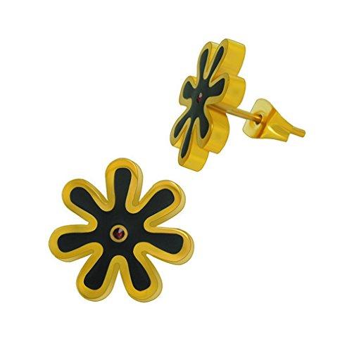 Fengteng Présent Fleur Daisy Boucles D'oreilles Anniversaire