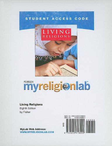 MyReligionLab -- Standalone Access Card -- for Living Religions  (8th Edition) (Myreligionlab (Access Codes))