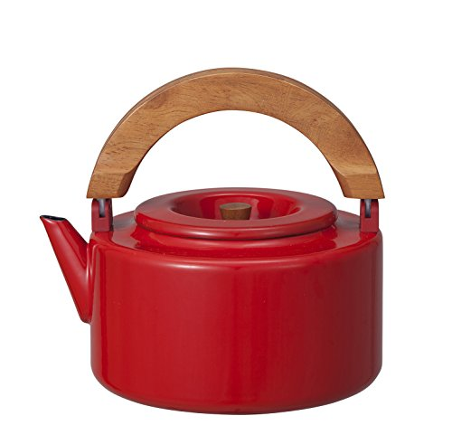 CB JAPAN Nordica Flat Kettle (Red)【Japan Domestic genuine products】 by CB Japan