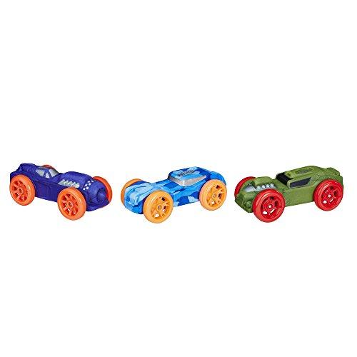 Nerf Nitro Foam Car 3-Pack (Version 8)