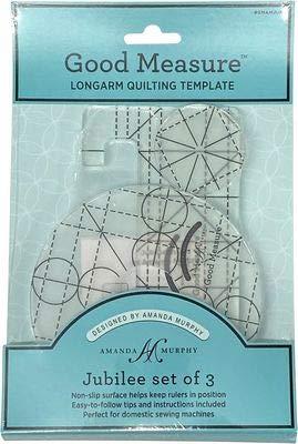 Every Oval Amanda Murphy Good Measure Long Arm Sewing Templates Five-Piece Set